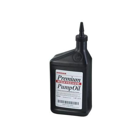 """Robinair 13203 Quart Of Premium """"High"""" Vacuum Pump Oil"""