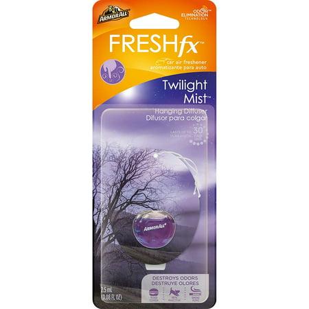 Mist Hanging - Armor All FRESHfx Car Air Freshener Hanging Diffuser (Twilight Mist)