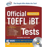 Official TOEFL IBT Tests Volume 2, Second Edition (Other)