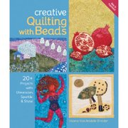 Lark Books-Creative Quilting With Beads