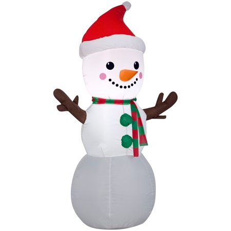 Christmas Airblown 4' Snowman Inflatable