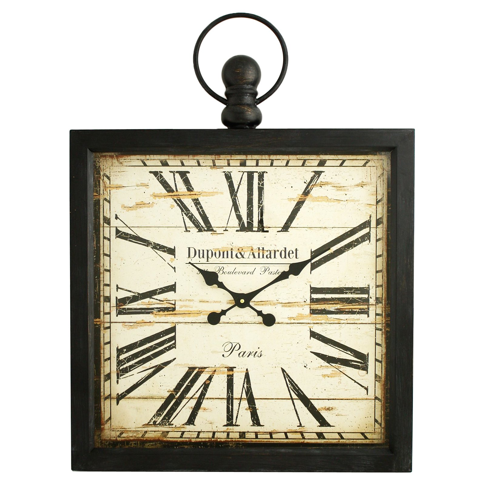 aspire home accents olivia wall clock  walmartcom -