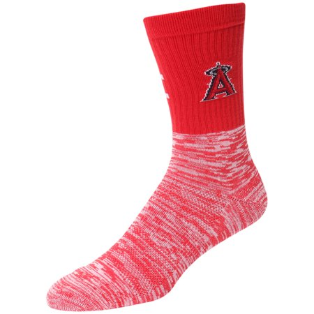 Los Angeles Angels Block Crew Sock - L