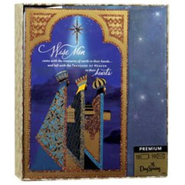 DaySpring  -  Wise Men Came with Treasures - 18 Premium Christmas Boxed Cards