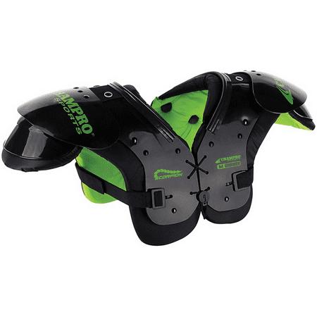 Knit Football Hand Pad - CHAMPRO Football Scorpion Shoulder Pad XS