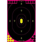 Birchwood Casey Shoot-n-c Pink 12x18 Sil