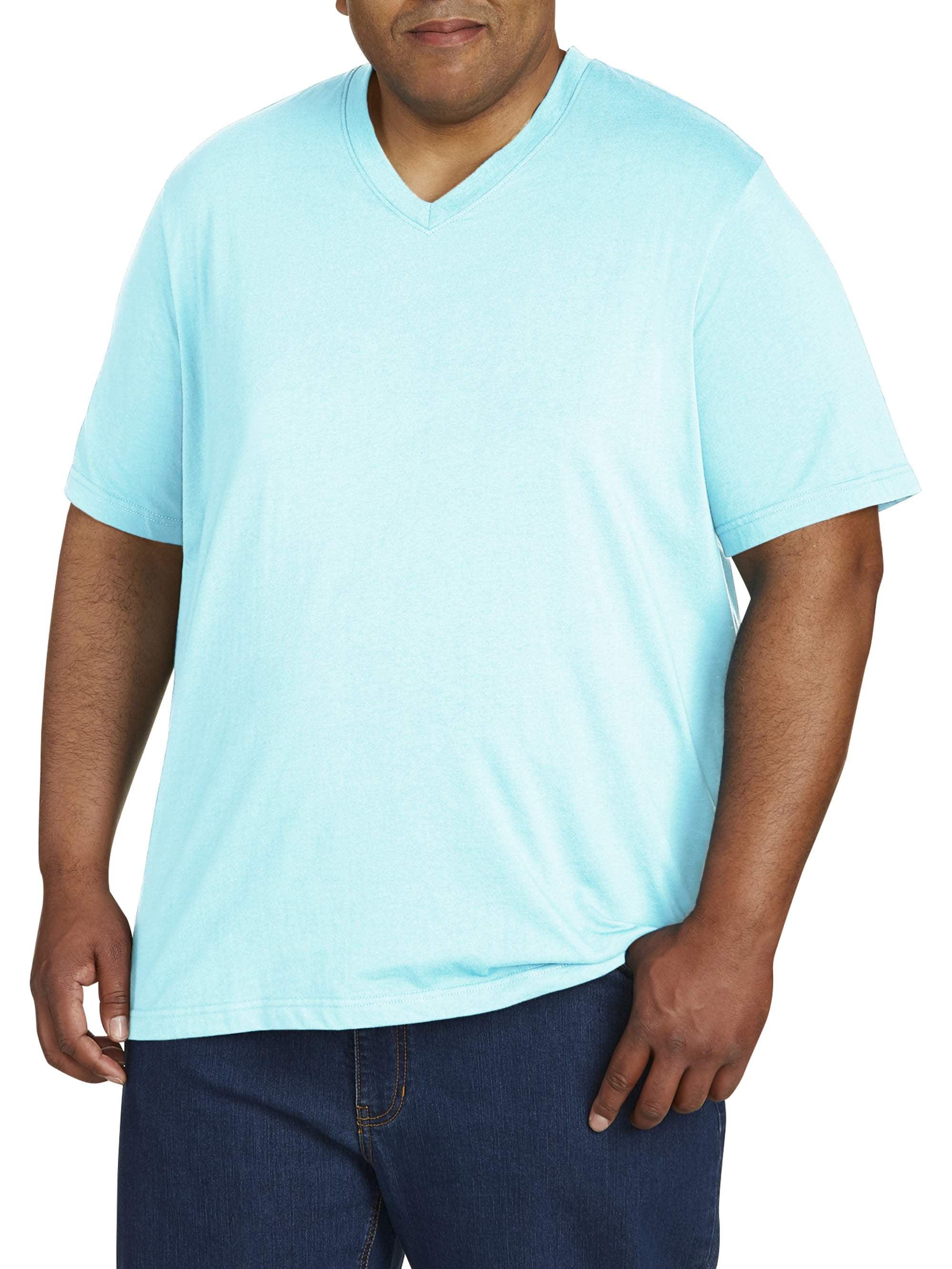 Men's Wicking Jersey Short Sleeve V Neck Tee