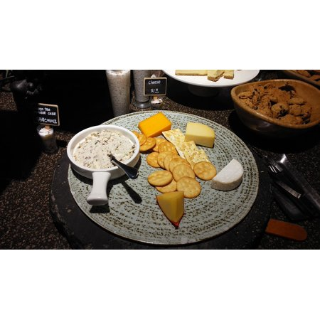LAMINATED POSTER System Cheese Edam Platter Bridge Buffet Crackers Poster Print 24 x 36 - Halloween Cheese And Cracker Platters
