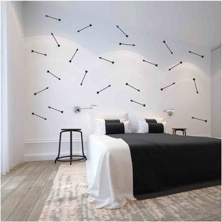 Owl Hills Arrows Wall Stickers, 12""