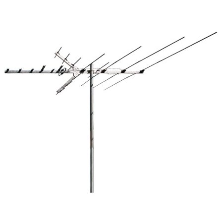 RCA Outdoor 60 Mile Antenna With Mast – UHF, VHF and HDTV