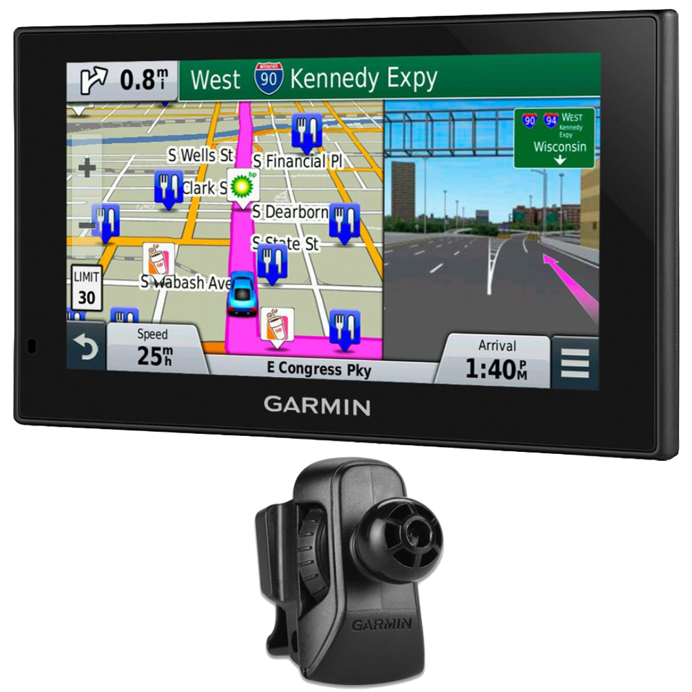 "Garmin nuvi 2699LMT HD 6"" GPS with Lifetime Maps & HD Traffic Air Vent Mount Bundle"