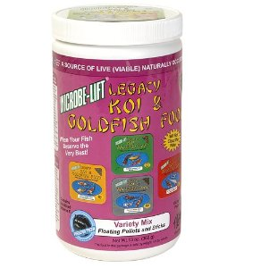 Ecological Labs MLLVMSM Legacy Variety Mix Floating Pellets and Stick, 13-Ounce Multi-Colored