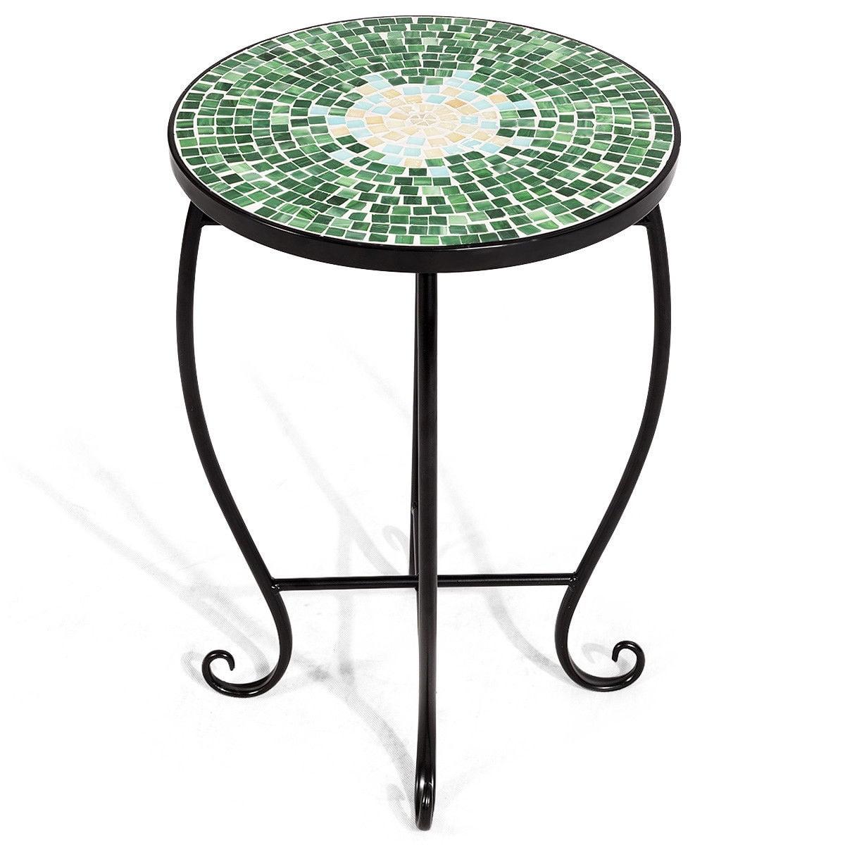 Accent Table Plant Stand Scheme Garden