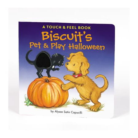 Biscuit's Pet & Play Halloween (Board Book) - Halloween Biscuits