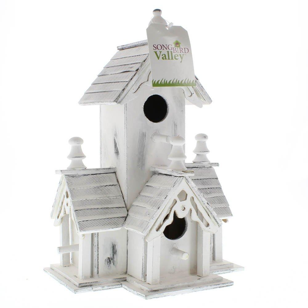 Birdhouse, Modern Wooden Birdhouses Outdoor Decor by Songbird Valley