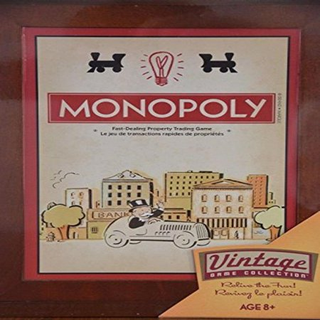 Vintage Monopoly (Monopoly Vintage Game Collection)