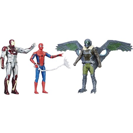 Spider Man  Homecoming Web City 6  Figure 3 Pack