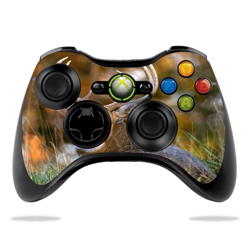 Protective Vinyl Skin Decal Cover for Microsoft Xbox 360 Controller wrap sticker skins Deer