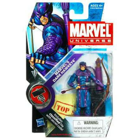 Marvel Universe Series 11 Marvel's Dark Hawkeye Action Figure [Dark Avengers]
