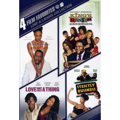 Love & Laughs Collection: 4 Film Favorites - A Thin Line Between Love And Hate / Love Don't Cost A Thing / King's Ransom / Strictly Business (Widescreen)
