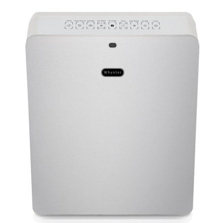 Dark Silver Air - Whynter AFR-425-SW EcoPure HEPA System Air Purifier, Silver