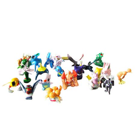KABOER24 Pcs  Doll , Mini Action Figures 2-3 cm Kid\'s Gift Monster Toys Set for Pet Toy Play Game Player, Kid's Great Gifts Children Game Player Gift Set