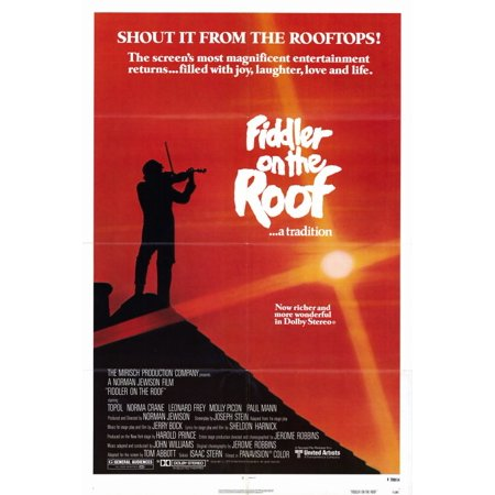 Fiddler on the Roof (1979) 11x17 Movie Poster (Fiddler On The Roof Costumes For Sale)