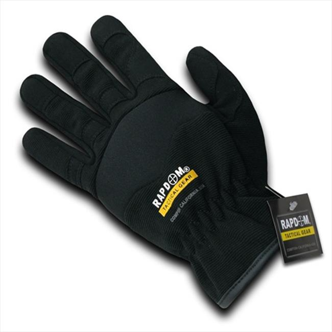 RapDom T25-PL-BLK-05 Mesh Mechanic Glove - Black, 2X