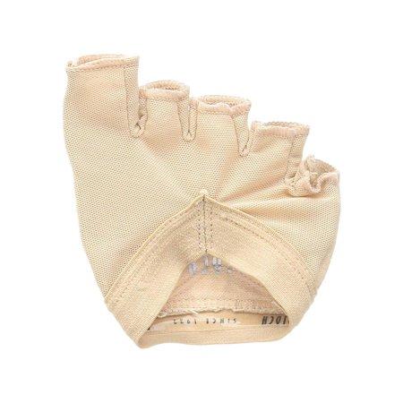 Foot Gloves Shoes - Bloch Dance Women's Soleil Foot Glove Contemporary / Modern, Dark Tan, Size 4.0