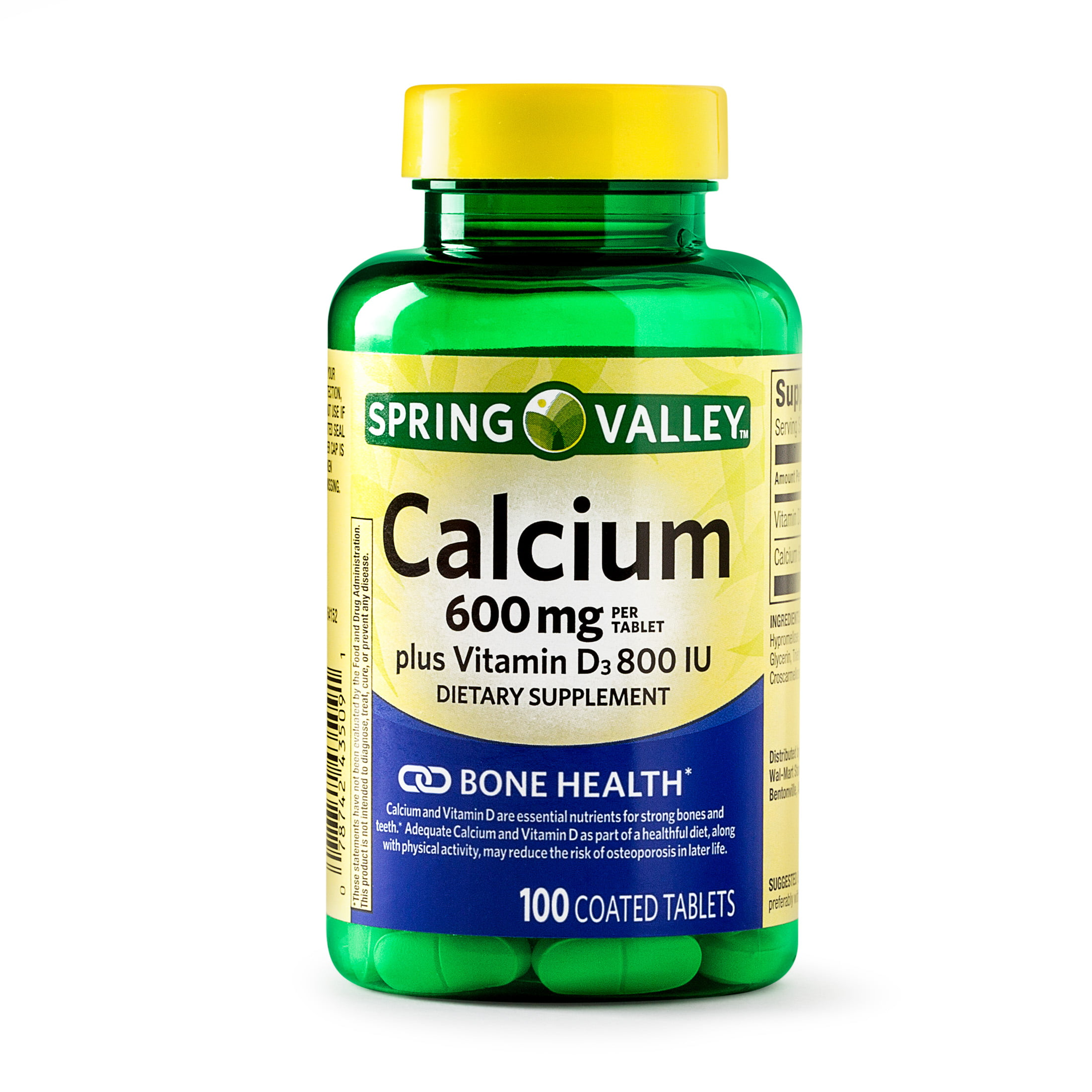 1f3747d3a8c Spring Valley Calcium plus Vitamin D Coated Tablets