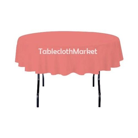 58 Inch Round Polyester Tablecloth 24 Color Table Cover Wedding Catering Dinner C