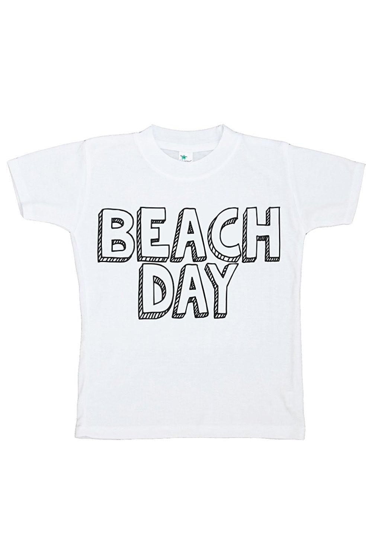Custom Party Shop Baby's Beach Day Summer T-shirt - XL (18-20) T-shirt