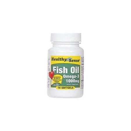 bulk buys fish oil 1000mg 18ct pack of 6