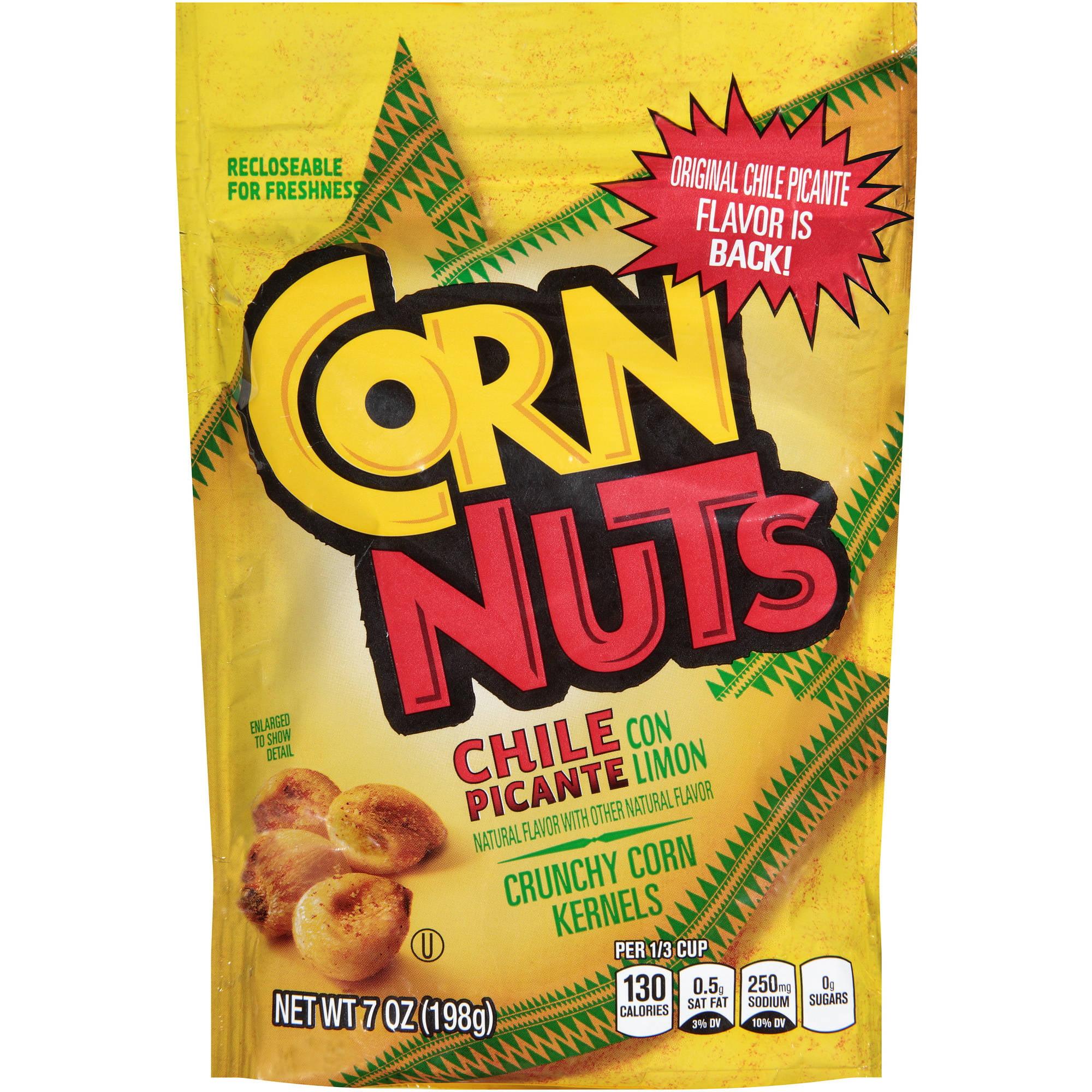 Corn Nuts Chile Picante con Limon Crunchy Corn Kernels, 7 oz