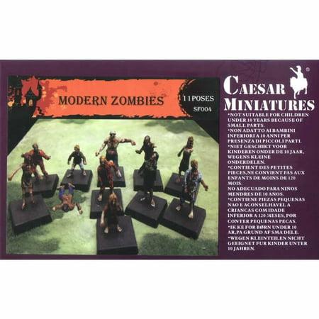 Modern Zombies 1/72 Scale Miniatures Pegasus Hobbies