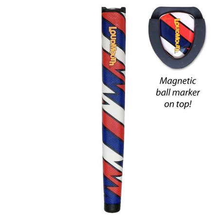 Loudmouth Captain Thunderbolt USA Jumbo Putter Grip