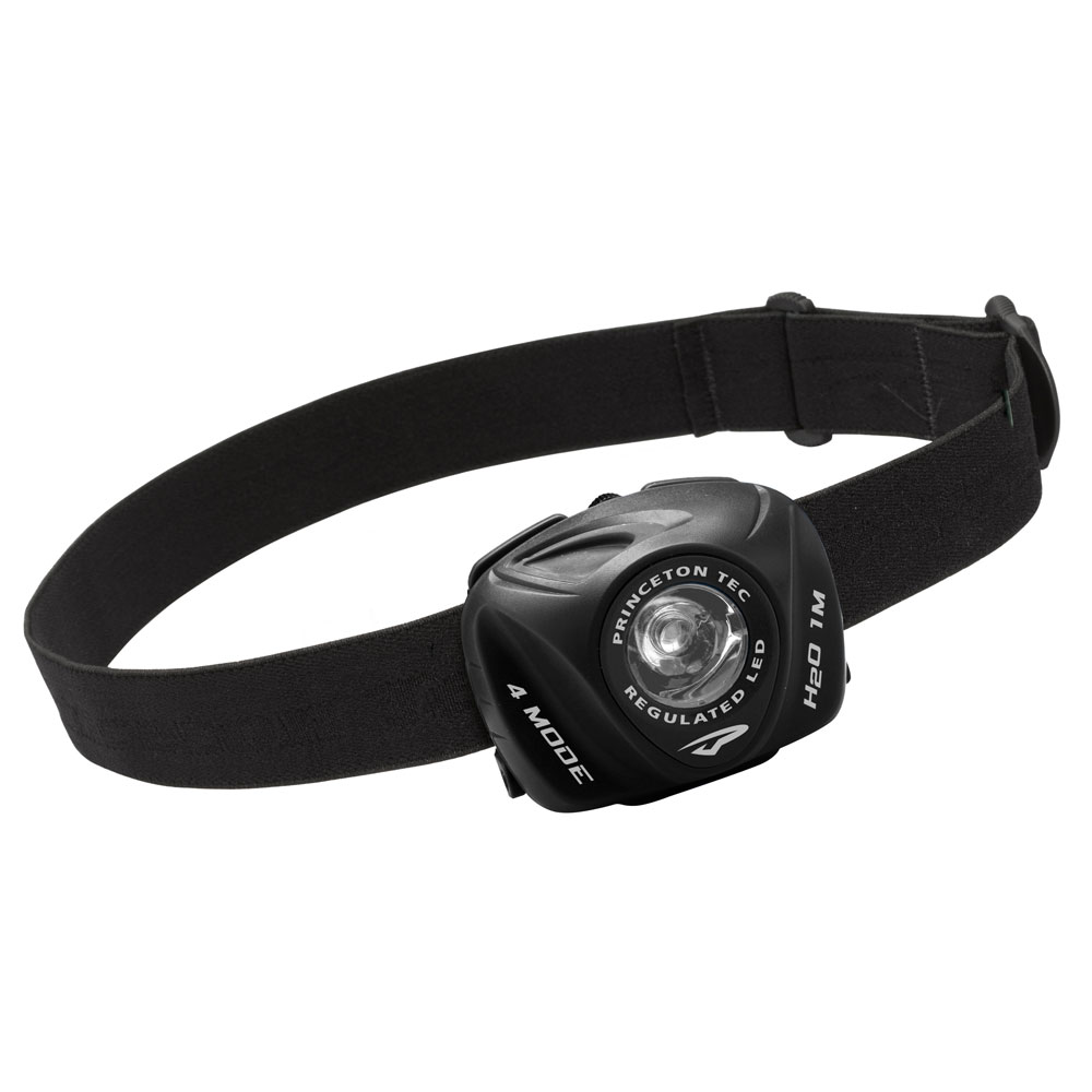 PRINCETON TEC EOS INDUSTRIAL 130 LUMEN HEADLAMP BLACK