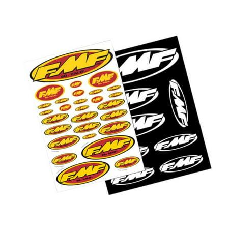 FMF Racing 014800 Assorted Sticker Sheet