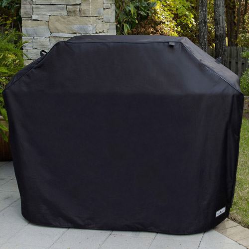 "Sure Fit 65"" Large Premium Grill Cover, Black"