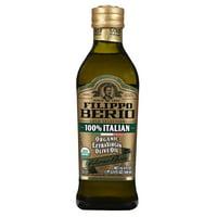 Filippo Berio 100% Italian Organic Extra Virgin Olive Oil, 16.9 fl oz