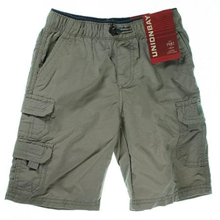 b27c6b00e3 UNIONBAY Lightweight Pull-On Cargo Shorts for Boys (5, Quartz)
