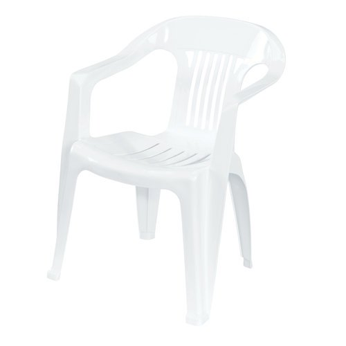 Us Leisure Low Back Chair White Walmartcom
