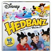 HedBanz Disney, Guessing Game Featuring Disney Characters, for Kids and Adults, Ages 7 and Up (Edition May Vary)
