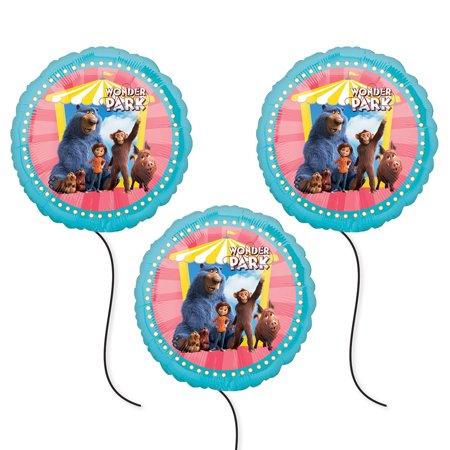 Wonder Park Party Supplies Foil Balloon - - Wonder Woman Birthday Supplies