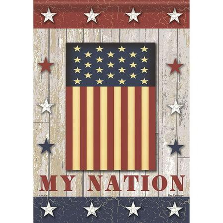 Carson Garden Flag - My Nation