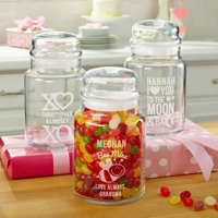Personalized Cute & Sweet Treat Jar, Choose From 3 Designs