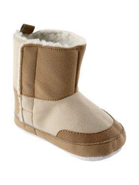 Newborn Baby Girls Faux Suede Boots