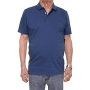 Alfani Men's Short Sleeve Blue Polo Shirt Size XXL