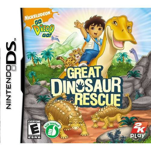 Go, Diego, Go!: Great Dinosaur Rescue [Nickelodeon] (with Silly Bandz)