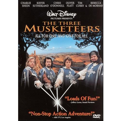 THREE MUSKETEERS (DVD/2.35/DD 5.1)